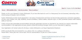 Costco Job Application And Employment Resources Job Application Point