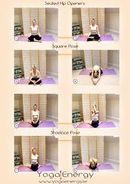 seated hip openers square shoelace poses