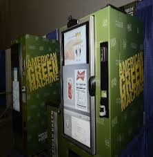 American Green Vending Machine