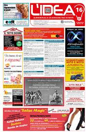 Lidea n 16 del 27 agosto 2015 by publik image srl issuu