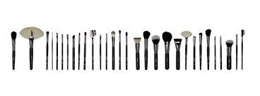 full makeup brush set. full makeup brush set