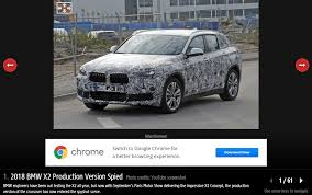 2018 bmw production schedule. contemporary schedule 2018 bmw x2 white spy shot front three quarters to bmw production schedule u