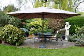 rectangular patio umbrella contemporary double outdoor