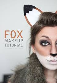 fox makeup tutorial for makeup makeup looks fox makeup
