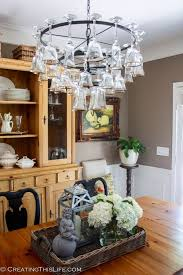 glass chandeliers for dining room hometalk how to make a wine glass chandelier for the home throughout designs