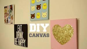 Diy Wall Decor Custom Canvas Youtube N ? Diy Wall Decor Custom in Diy