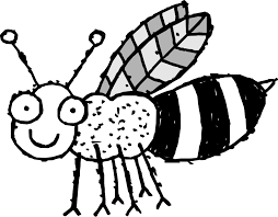 Small Picture Bee 23 Black White Line Art Coloring Sheet Colouring Page