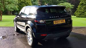 land rover 2015 black. range rover evoque 20 td4 se 5dr auto land 2015 black