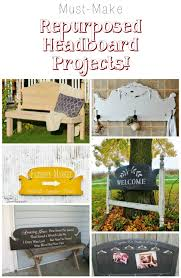 how to repurpose headboards into