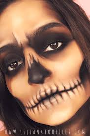 kick start your party with this how to easy skull makeup tutorial for you can recreate using your everyday makeup s