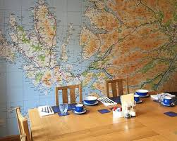 Custom Map Wallpaper Based On Your Town Or Postcode