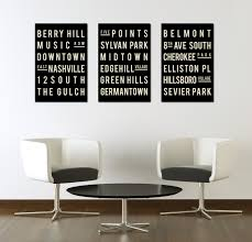 Nashville Sign Decor Wall Art Ideas Design Music Decor Nashville Wall Art City 41