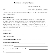 School Field Trip Permission Form Template School Trip Letter Template Naomijorge Co