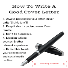 cover letter writing help how to write a great cover letter that gets results bang2write