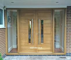 wooden front door with sidelights amazing double front door sidelights and contemporary double doors contemporary double