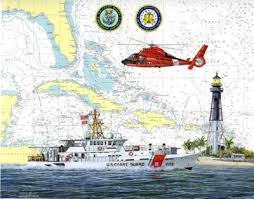 Uscg Shore Units Chart Art Prints