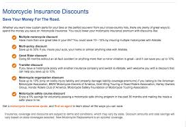 esurance motorcycle insurance coverage