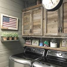 rustic cabinets. Beautiful Rustic Laundry Room. Cabinets