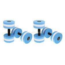 whole blue water aerobics dumbbell aquatic barbell aqua fitness swimming pool exercise swimming pool exercises pool pool pool swimming with