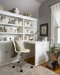 creating home office. Home Office:Decorating Small Office With Smart Table And Nice White Furniture Sets Creating
