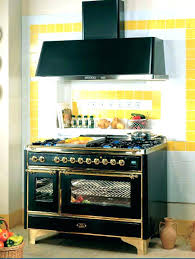 ge looking refrigerator artistry stove retro style kitchen