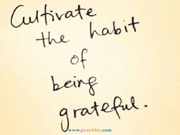 Grateful Quotes Awesome Prayables Gratitude Quotes And Prayers Habit Of Grateful Beliefnet
