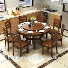 solid wood round dining tables dining room furniture solid wood rotating dining table solid wood dining