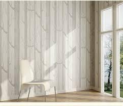 forest wall mural birch tree pattern woods wallpaper roll modern simple wallpaper design black white wall