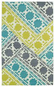 glam gla02 78 turquoise area rug by kaleen