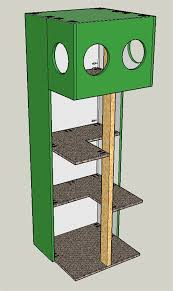 outdoor cat house plans. Outdoor Cat Tree House Plans Designs