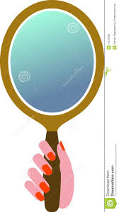hand mirror clipart. royalty-free stock photo. download hand mirror clipart