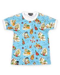 Six Bunnies Aloha Flash Kids T Shirt