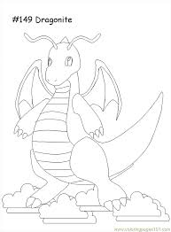 Small Picture Dratini Coloring Pages Print Coloring Coloring Pages