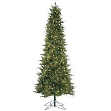 9 Ft  LED  PreLit Christmas Trees  Artificial Christmas Trees Pre Lit Spruce Christmas Tree