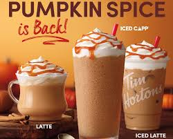 Pumpkin spiced iced coffee recipe. Tim Hortons Us Announces Return Of Its Pumpkin Spice Beverages