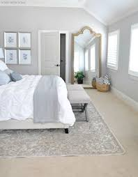 home neutral master bedroom refresh