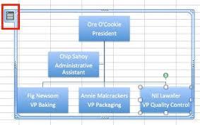 How To Create Organization Chart In Excel 2013 Create Organizational Charts In Excel Smartsheet