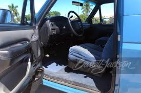 The bronco's dashboard looks sleek and modern, and its general shape a nod to. 1996 Ford Bronco