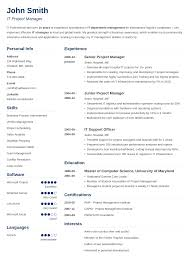Resume Templatea 24 Resume Templates [Download] Create Your Resume in 24 Minutes 1