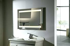 modern bathroom mirrors with lights. Modern Bathroom Mirror Excellent Led Wall Mounted Lighted With Lights . Mirrors E