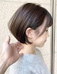 女性らしさを引き出すショートボブom 100 ヘアカタログ髪型