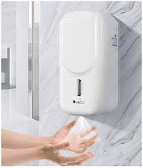 Touch-Free <b>Hand Sanitizer</b> Dispenser, 1000ML Wall-Mounted ...