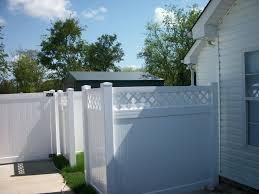 home fence design. white vinyl fence design modern \u2014 best home decor ideas : recyclable