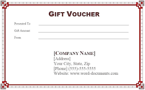 Gift Certificate Template Fresh Free Word Pdf Best Of