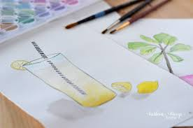 15 easy watercolor painting ideas for