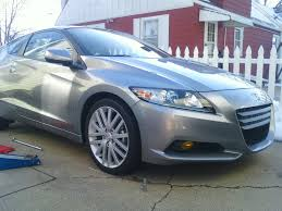 Check out these OEM wheels on the CR-Z, now I want 18's!! - Honda ...