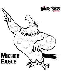Angry Birds Movie Stella Coloring Pages