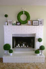 Reface Fireplace Ideas Fireplace Awesome Painted Fireplace Mantels Ideas Fireplace