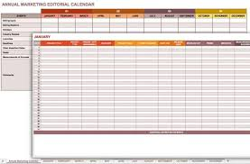 Communication Schedule Template Excel Free Marketing