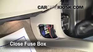 interior fuse box location 2006 2016 chevrolet impala 2008 2007 Chevy Impala Fuse Box Location at 2006 Chevy Impala Door Fuse Box Diagram